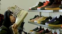 Had to show Joe La Puma why I don't mess with some sneakers. Check it out Complex Sneaker Shopping shady.sr/SneakerShopping2017