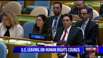 United States Withdraws from UN Human Rights Council