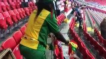 Pologne-Sénégal : Les supporters sénégalais nettoient les tribunes après la rencontre !