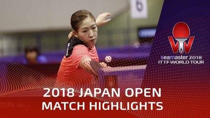 Liu Shiwen vs Chen Szu-Yu | 2018 Japan Open Highlights (R16)