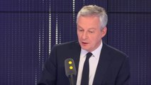 """Croissance plus faible que prévu en 2018 selon l'Insee : """"La croissance française reste solide, je suis confiant là-dessus"""", a réagi Bruno Le Maire. """"Nous maintenons notre prévision de croissance à 1,8"""", a-t-il ajouté"""