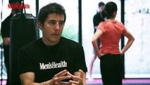 Manel Fuentes se atreve con el Reto de Men's Health