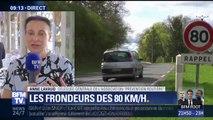 """Limitation à 80km/h: appliquer le cas par cas """"rendrait la mesure illisible et inopérante"""" selon l'association """"Prévention routière"""""""