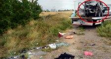 Eskişehir'de Feci Kaza! Bariyere Çarpan Araç Yuvarlandı, Aynı Aileden 5 Kişi Öldü