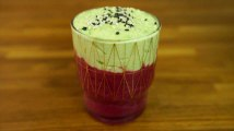 Verrine betterave rouge et avocat