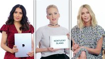 Jennifer Lawrence, Margot Robbie & More Teach Drinking Slang from Around the World