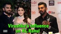 KL Rahul talks about Virushka influence on him