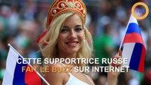 Le métier de cette supportrice russe en étonne plus d'un