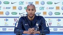 Équipe de France : le point presse de Nzonzi et Giroud en replay