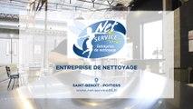 Net Service, entreprise de nettoyage à Saint-Benoît près de Poitiers.