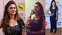 Gold Awards: Jennifer Winget wins Best Actress Award for Bepannah; Watch what she said | FilmiBeat
