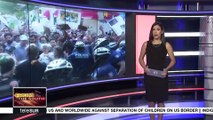 Protests over 'zero tolerance immigration policy'