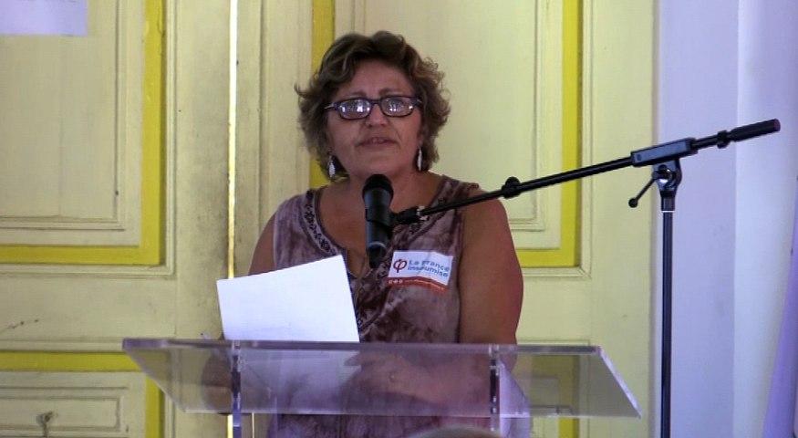 Audition 5-16juin-Anne-Marie BAIGUE, Guyane Insoumise