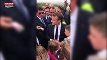 Mondial 2018 : Emmanuel Macron confiant pour les prochains matchs des Bleus (vidéo)