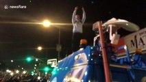 Cops 'fire rubber bullets' at fans during XXXTentacion memorial