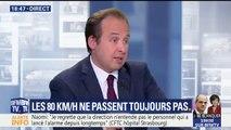 """80 km/h : """"Cibler les endroits dangereux suffirait"""", estime Jean-Christophe Lagarde"""