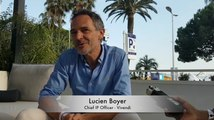 CANNES LIONS 2018 : Interview of Lucien Boyer, Chief IP Officer at Vivendi