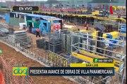 Panamericanos 2019: presentan avance de obras en la Videna