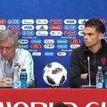 ساعات قبل مباراة المنتخب المغربي ونظيره البرتغالي.. هذا ما قاله سانتوس وبيبي