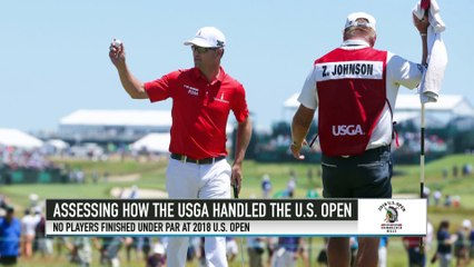 Zach Johnson Criticizes Decisions Made for U.S. Open Course Conditions