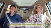 The Apple TV App — Carpool Karaoke — Cast of Westworld — James Marsden and Evan Rachel Wood