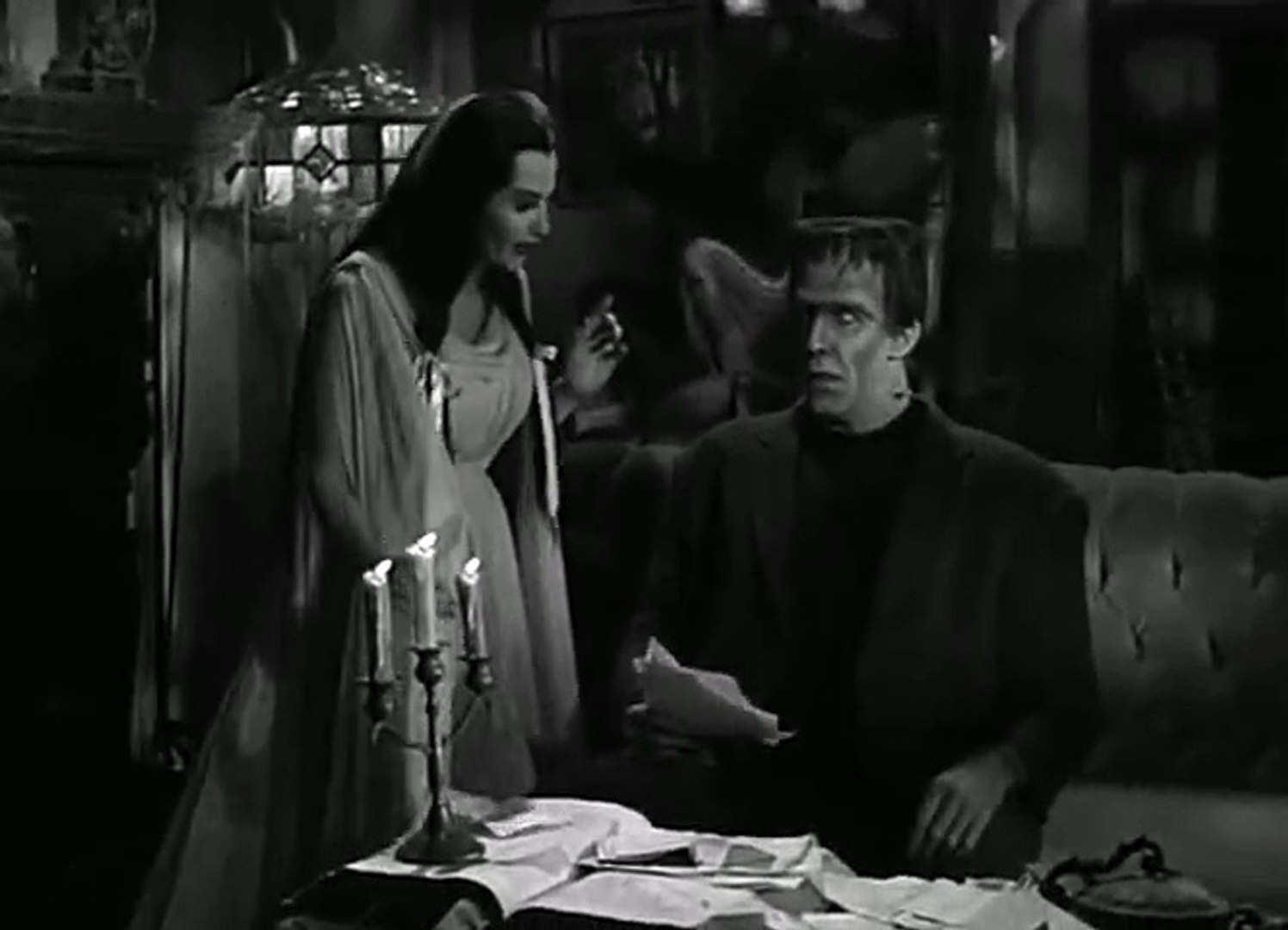 The Munsters S01 Ep03 A Walk On The Mild Side Hd Watch Video Dailymotion
