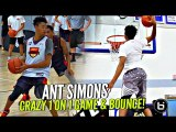 Anfernee Simons 1 on 1 King of Court EASY WORK! Boy Got MAD RANGE & BOUNCE!