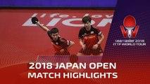 Jeoung Youngsik/Lee Sangsu vs Liang Jingkun/Zhou Kai | 2018 Japan Open Highlights (Final)