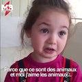 Cette petite fille explique pourquoi elle ne veut pas manger de viande Via storyful