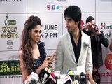 Jennifer Winget And Harshad Chopda CUTE MOMENTS On Zee Gold Awards 2018