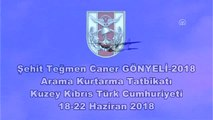 Şehit Teğmen Caner Gönyeli-2018 Arama Kurtarma Tatbikatı