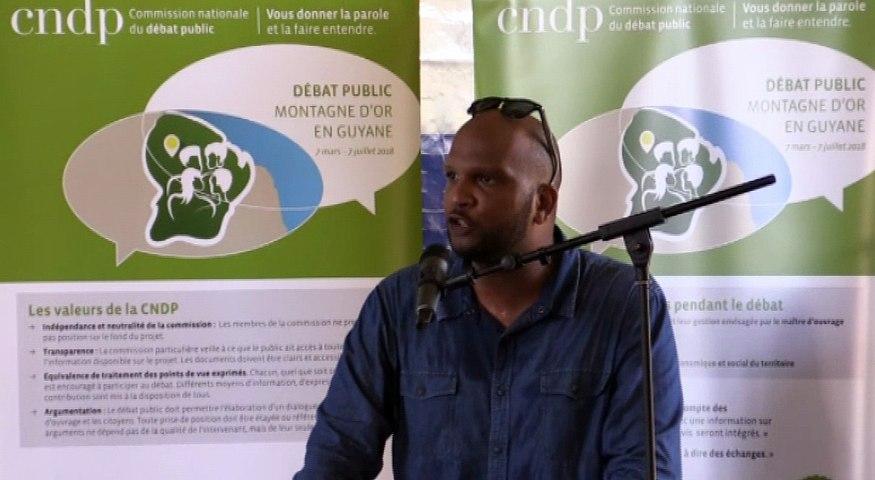 Audition 3-18juin-Richard Joigny, Parti progressiste guyanais