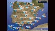 Previsión del tiempo para este jueves 21 de junio