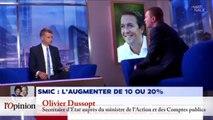 Valérie Pécresse: «Je pense qu'il faut augmenter le Smic net de 20%»