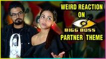 Hina Khan And Rocky Jaiswal Weird Reaction On Bigg Boss 12 Partner Theme