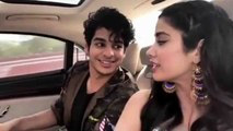 Jhanvi Kapoor & Ishaan Khatter's CUTE moments during Dhadak promotions; Watch Video ! | FilmiBeat