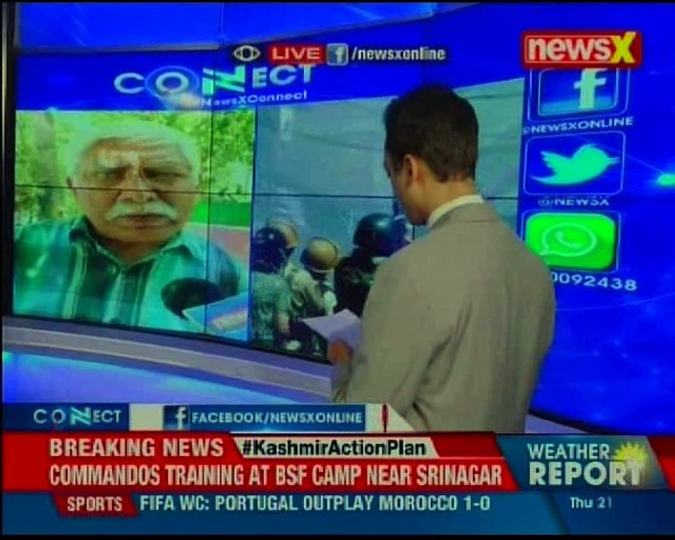 Are stone pelters in J&K local Is this a ploy by Pak agents to keep the conflict alive NewsX Con