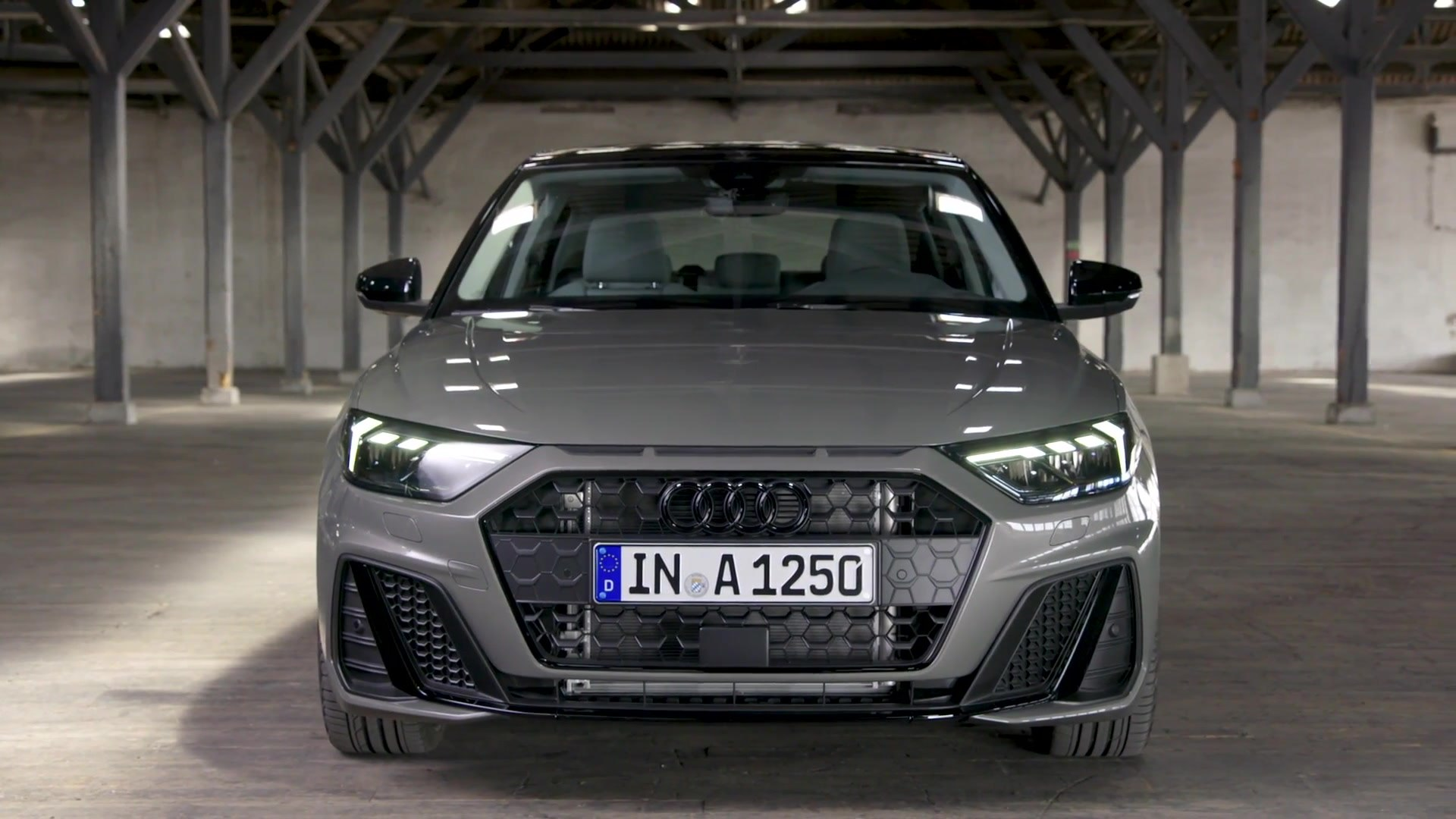The New Audi A1 Sportback Exterior Design In Chronos Grey Video Dailymotion