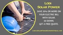 Affordable Solar Energy Lodi CA - Lodi Solar Energy Costs