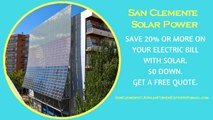Affordable Solar Energy San Clemente - San Clemente Solar Energy Costs
