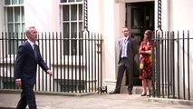NATO Secretary General meets Theresa May at Downing Street