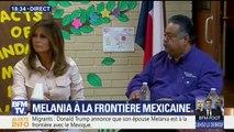 Migrants: Melania Trump est à la frontière avec le Mexique