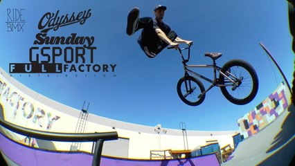 Heavy BMX session at Odyssey Ramps