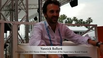 CANNES LIONS 2018 :  Interview of Yannick Bolloré, Chairman & CEO Havas Group and Chairman of the Supervisory Board Vivendi