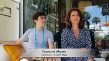 CANNES LIONS 2018 : Interview of Francine Mayer, Chairman of Canal+ Régie, and Jean Desportes, Director of Creation of Canal Brand Factory