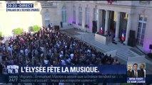 Fête de la musique: à l'Elysée, le concert électro débute