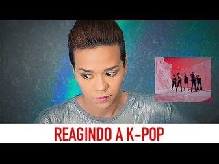 REAGINDO A K-POP - BTS, EXO, TWICE e RED VELVET