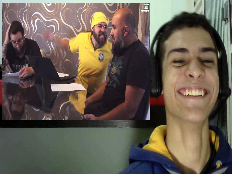 REACT- REACT- Ixpertinho na COPA!!! - Família CANARALHO.