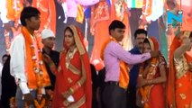 42 couples from Hindu, Muslim community tie knot in mass marriage