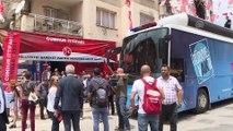 Başbakan Yıldırım, MHP Menderes ilçe teşkilatını ve Menderes Belediyesini ziyaret etti - İZMİR